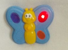 Adorable My 1st Baby 'Musical & Light up Butterfly' Nursery Rhyme Toy
